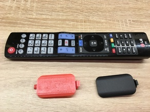 LG Smart TV Battery Cover Replacement Rev.2