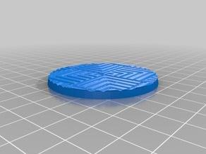 Labyrinth Gravity Mosaics Circuit Minature Tabletop Bases