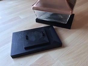 Solar Light 4x6 Post Adapter