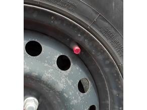 Car tire - bike cap