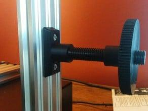 Adjustable filament holder.