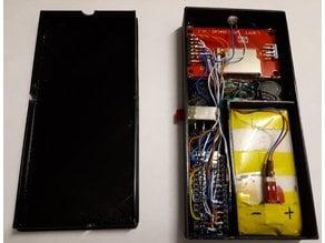 BOX for TUNER / TV remote control  (ARDUINO NANO)
