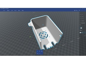 """BCN3D"" Box.stl PuzzleCut to fit smaller printers. Robot Arm"