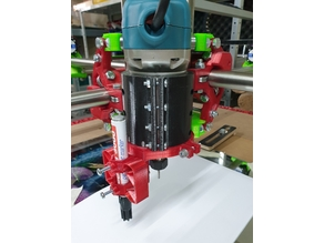 MPCNC Pen Holder with Spring for Makita