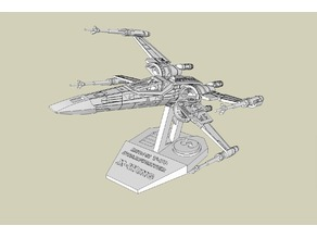 X Wing T70 Stand