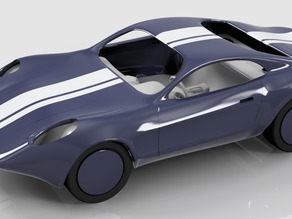 Modular Model GT Coupe (Retro Inspired NCS Concept)