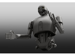 Robot Waist Inspired by K2SO