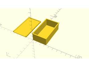 Universal Box - OpenSCAD Customizer
