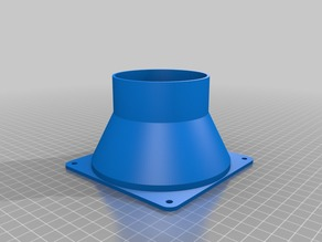 120mm to 75mm Fan Adapter