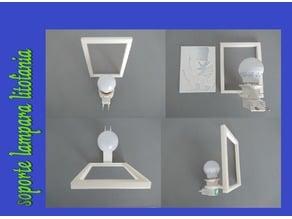 soporte luz para LITOFANIAS