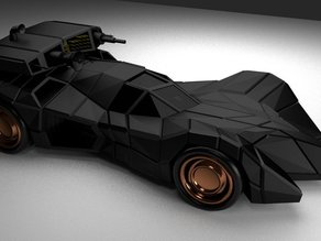 Batmobile armed and armored
