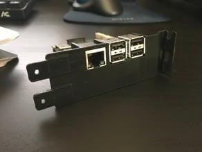Raspberry Pi Pc Bracket USB