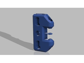 Robust and reliable XY Idlers Mount for Hypercube Evolution 5mm idler edition