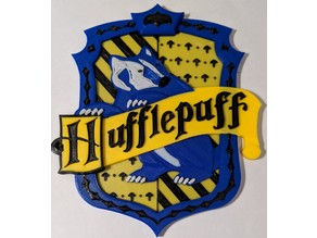 Hufflepuff Harry Potter multimaterial (Prusa mmu)