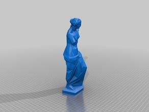 Low-Poly Venus De Milo Statue