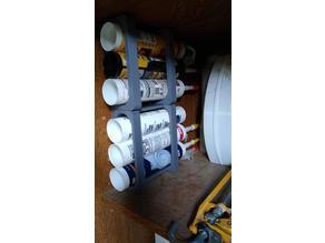 Simpler Sealant (Caulk) Tube Holder - wall mount