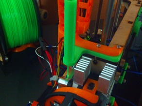Filament guide for Printrbot Simple 2014 with metal extruder