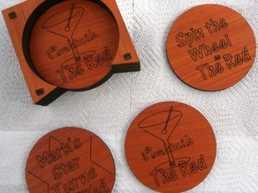 Blank Coasters to add tour own designs to or as a Summer KTKQ project