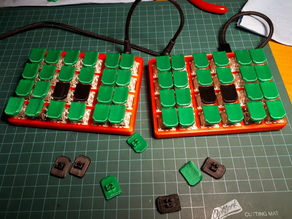 Steno key tops for Cherry MX switches