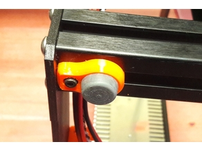 Rubber Feet Support for Prusa MK3