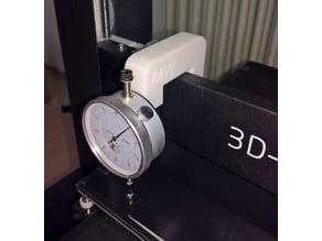 Dial gauge holder for JGaurora A5 + Messuhr Halter für JGaurora A5