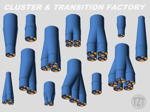 Customizer - Model Rocket Cluster & Transition Factory