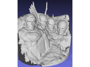 Justice League 2 Mt Rushmore