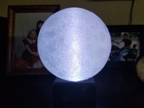 Moon Lamp with D1Mini and WS2812 LED Shield