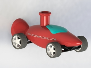 Venturi powered Ballon Car