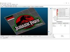 Jurassic Park MMU logo