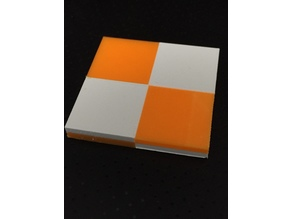 Dual head Calibration Plate - Checker board