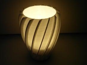 Spiral tealight decoration (customizale)