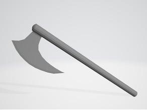 Viking Style War Ax