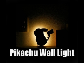 Pikachu Wall Light