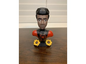 Miles Morales Bust: Into The Spiderverse