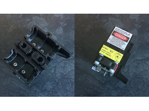 CTC/Geeetech i3 Pro B laser module X carriage mount