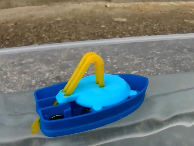 3D Printed Pop Pop Boat