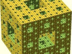 Parametric Menger Sponge