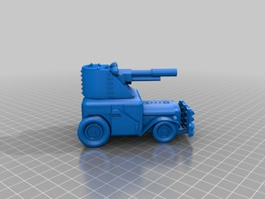 Ork / Orc armoured Light attack vehicle / War Buggy