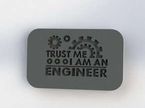 Engineer Plaque