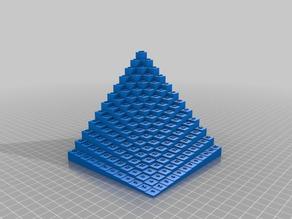 12x12 Multiplication Table in 3D v3