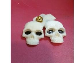 small skull pin