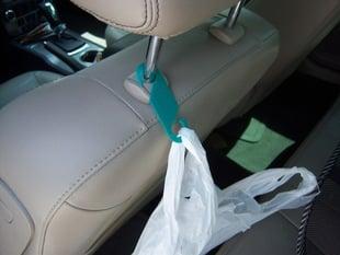 Car Seatback Trash Bag/Purse Holder