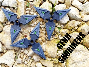Genji Shuriken- Overwatch =Easy Print=