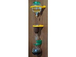 Cold Drip Coffee Tower Wall Mount for Yama CDM8 glass