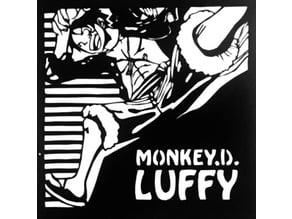 Monkey D. Luffy stencil 2