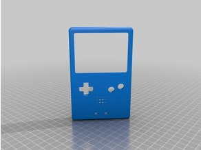 Gameboy Advance SP Enclosure REMIXED speaker grill