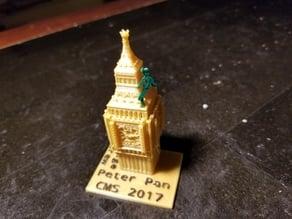 Peter Pan over Big Ben