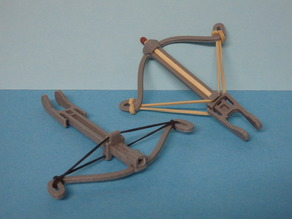 Crossbow for match V2 / Arbalète pour allumette V2