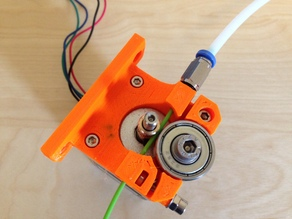 Compact Bowden Extruder, direct drive 1.75mm